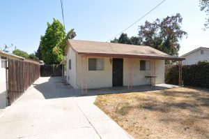 Front of vacant land for sale, located at 4526-4530 Huddart Ave, El Monte, CA 91731